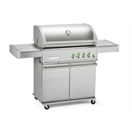 CROSSRAY 4-Burner Trolley Infrared BBQ