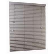 Zone Interiors 195 x 210cm 50mm PVC Long Island Venetian Blind - Stone