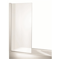Rick McLean's Designer Bathware 750mm White M3 Swing Bath Screen