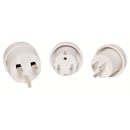 Jackson Multiple Region Travel Adaptor - 3 Pack