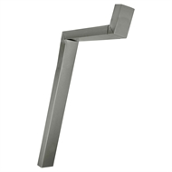 COLORBOND 100 x 50mm Adjustable Downpipe Offset - Dune