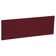 Kaboodle 900mm Seduction Red Modern Slimline Door