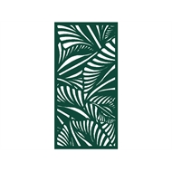 Protector Aluminium 900 x 1200mm Profile 18 Decorative Panel Unframed - Dark Green