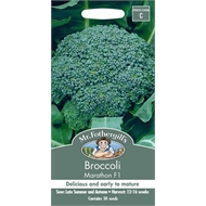 Mr Fothergill's Broccoli Marathon F1 Vegetable Seeds