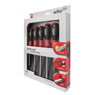 Wiha 6 Piece Slotted/Philips Screwdriver Set