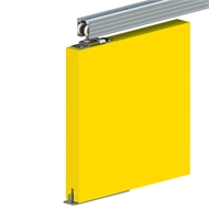 Cowdroy 1500mm Trojan Sliding Packaged Set for Single Doors