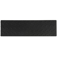 Croc Grip 420mm x 120mm Checker Plate Rubber Step
