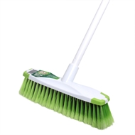 Sabco Medium Duty White Broom With Protective Bumpers
