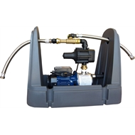 Rain & Town Beige RC750 Rain To Mains System With Pressure Pump And Saddle Cover
