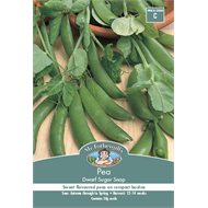 Mr Fothergill's Dwarf Sugar Snap Pea Vegetable Seeds