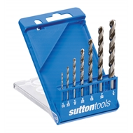 Sutton Tools 7 Piece Viper Imperial Drill Bit Set