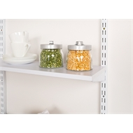 Handy Shelf 600 x 200 x 16mm White Melamine Shelf