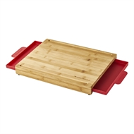 Matador Bamboo Chopping Board with Slide Out Trays