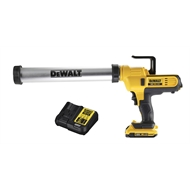 DeWALT 600mm 18V XR Li-Ion Cordless Sausage Caulking Gun Combo Kit