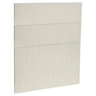 Kaboodle 600mm Mallow Grain Modern 3 Drawer Panels