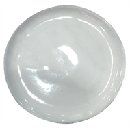 Northcote Pottery White Primo Round Saucer - 200mm