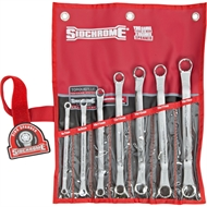 Sidchrome 7 Piece Metric Ring Spanner Set