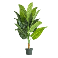 UN-REAL 110cm Artificial Elephants Ear Plant