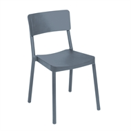 Tusk Living Light Grey Asta Cafe Chair