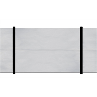 Slenderline 2400mm x 1800mm Modular Fencing Bay
