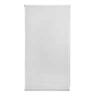 Zone Interiors 150 x 240cm Chicago Long Drop Indoor Roller Blind - Vivid White