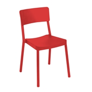 Tusk Living Red Asta Cafe Chair