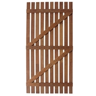 SpecRite 1800 x 900mm Merbau Vertical Slat Gate