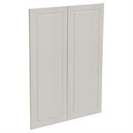Kaboodle 900mm Cremasala Heritage Medium Pantry Doors - 2 Pack