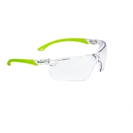 Protector Clear Lens Hi Vis Safety Glasses