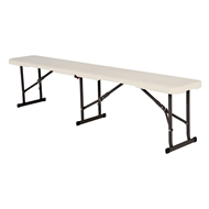 Lifetime Folding Trestle Bench