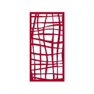 Protector Aluminium 900 x 1200mm ACP Profile 16 Decorative Panel Unframed - Light Red