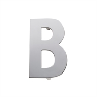 Sandleford 130mm B Chrome Plated Stainless Steel Letter