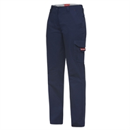 Hard Yakka Ladies Dobby Cargo Pant - 14 Navy