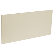 Kaboodle 600mm Melamine Modern 1 Drawer Panel - Mocha Latte