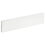 Kaboodle 600mm Gloss White Oven Front Panels - 2 Pack