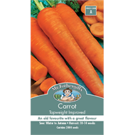 Mr Fothergill's Topweight Improved Carrot Vegetable Seeds