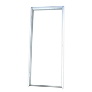 Lynx 2040 x 920mm N114 Left Hand Steel Assembled Door Frame