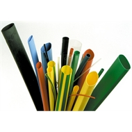 Raychem 25mm Black Thin Wall Heatshrink Tubing