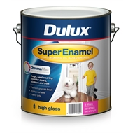 Dulux Super Enamel 4L High Gloss ChromaMax Extra Bright Enamel Paint