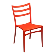 Tusk Living Orange Cafe Chair