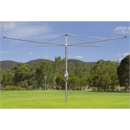 Austral Galvanised Super 6 Heavy Duty Rotary Clothesline