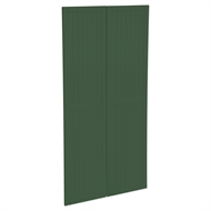 Kaboodle 900mm Vivid Basil Country Pantry Doors - 2 Pack