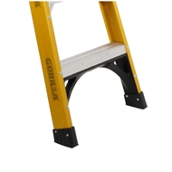 Gorilla 2.4m 150kg Industrial Fibreglass Double Sided Ladder