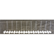 50 x 10 x 10cm Stainless Steel Bird Spike - Pack 10