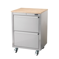 Ultimate Storage 850 x 610 x 450mm Under Bench 2 Drawer Chest