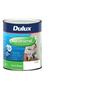 Dulux 1L Extra Bright Base Semi Gloss Aquanamel Paint