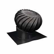 Brutus 300mm Aluminium Roof Vent - Black