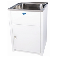 Everhard 70L NuGleam Maxi Laundry Trough and Cabinet