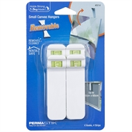 Permastik Small Canvas Hangers - 4 Pack