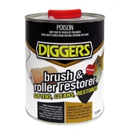 Diggers 1L Brush And Roller Restorer